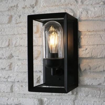 Buitenlamp Zwart Staal Napier