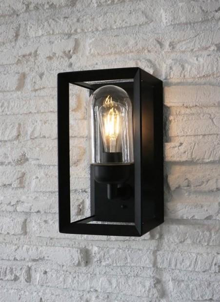 """Buitenlamp Zwart Staal """"Napier"""" LACN17"""