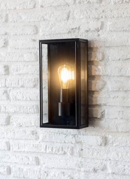 "Moderne Buitenlamp ""Belgrave"" Zwart LACN07"