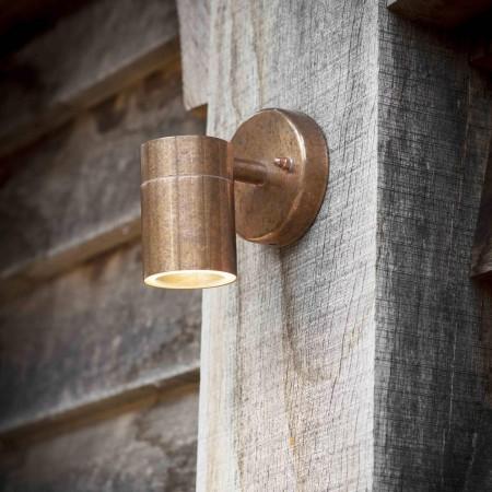 Downlight Buitenlamp Koper