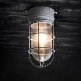 "Plafondlamp ""Chatham"" Aluminium"