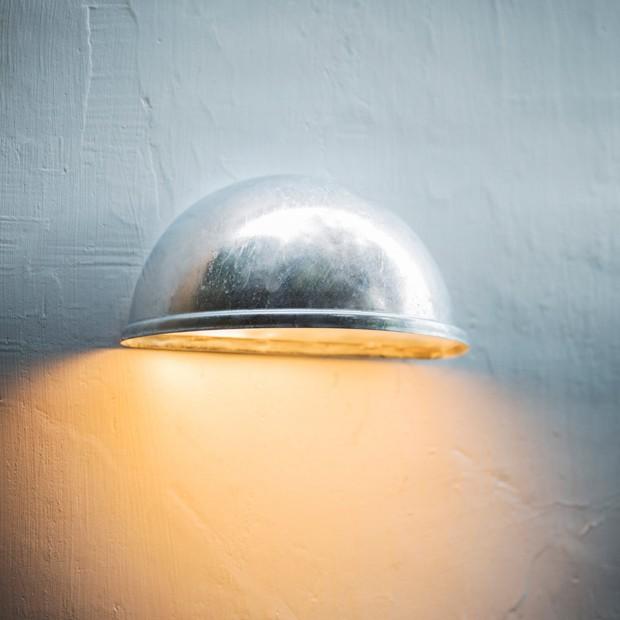 """Gegalvaniseerde Wandlamp Buiten """"St Ives Eye Down Light""""  LAHP02"""