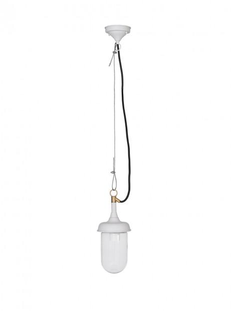 """Hanglamp Buiten veranda """"Harbour Light"""" Lelie Wit LALW03 PRE-ORDER"""