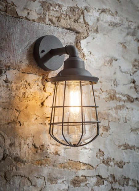 "Industriele Buitenlamp ""Finsbury"" Antraciet LACO30 PRE-ORDER"