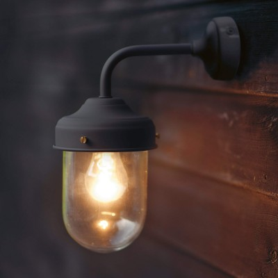 Buitenlamp Industrieel Barn Light Carbon