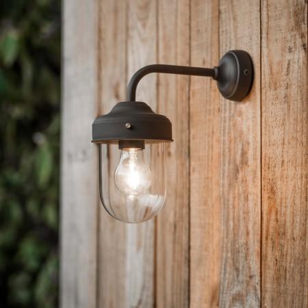 Buitenlamp Industrieel Barn Light Coffee Bean
