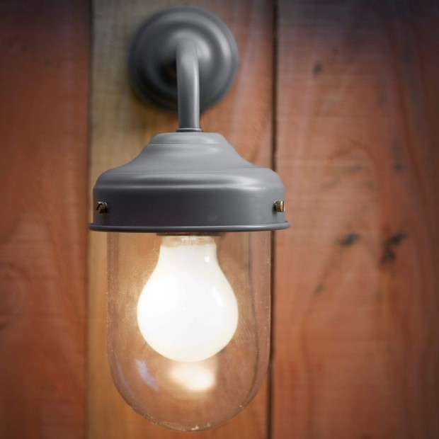 "Buitenlamp Industrieel  ""Barn Light Charcoal"" LACO10"