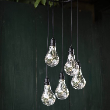 Feestverlichting Op Batterijen Festoon 5 Lampen