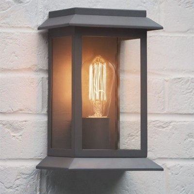 Wandlamp Grijs Grosvenor Light