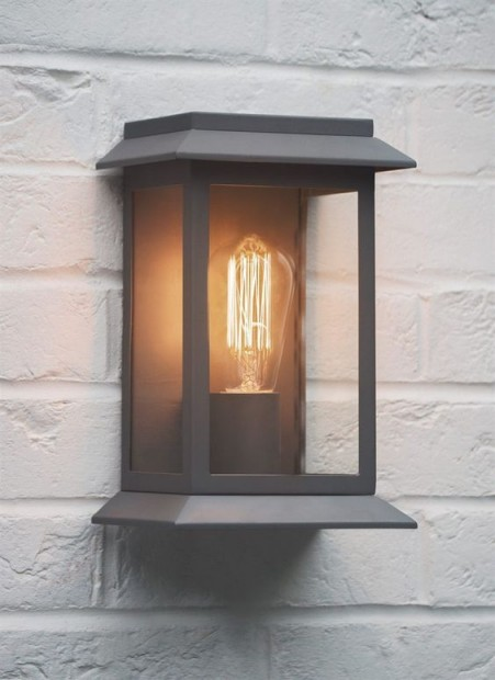 "Wandlamp ""Grosvenor Light"" Antraciet Grijs LAGV01"