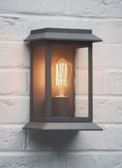 Wandlamp Quot Grosvenor Light Quot Antraciet Grijs Wandlamp Buiten
