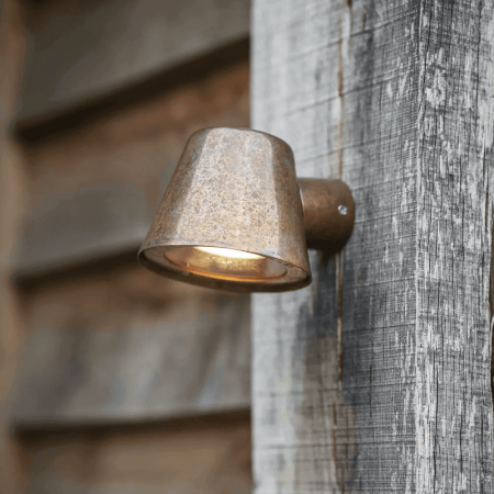 Wandlamp Buiten Koper Regent Mast Light