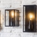 Moderne Buitenlamp Zwart Belgrave  LACN07