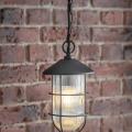 Industriele Hanglamp Zwart Cobalt LABK05