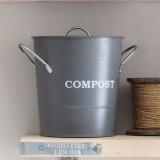 Compostemmer Donkergrijs 3,5 Liter