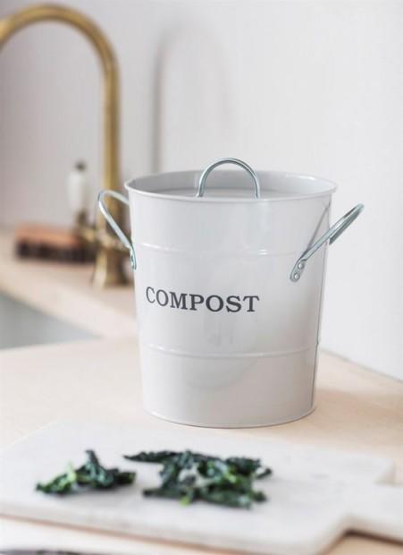 Compostemmer Wit 3,5 Liter CPCH01