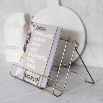 Kookboekhouder Metaal Brompton