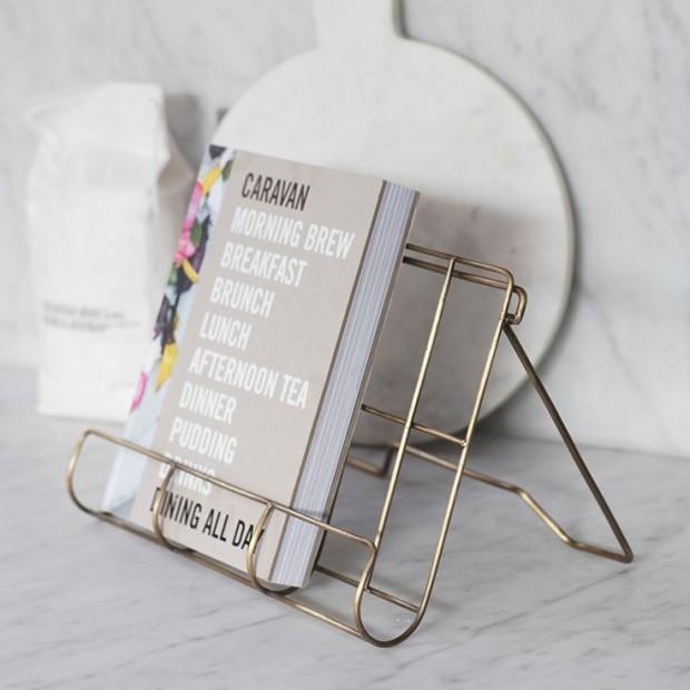 Kookboekhouder Metaal Brompton CHAB01