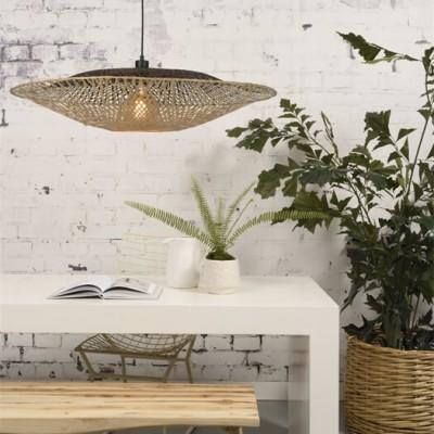 """Hanglamp Gevlochten Bamboe """"Kalimantan"""""""