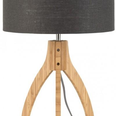 "Tafellamp Bamboe en Linnen ""Annapurna"""