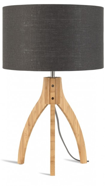 "Good & Mojo Tafellamp ""Annapurna"" Bamboe & Linnen Annapurna T"
