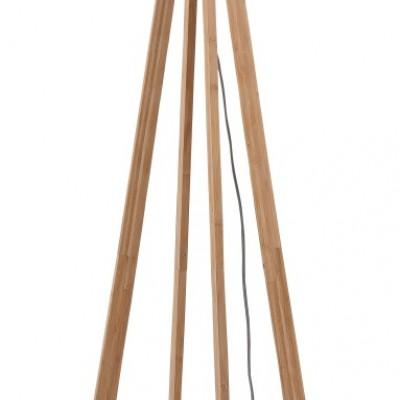 """Vloerlamp Bamboe en Linnen """"Everest"""""""