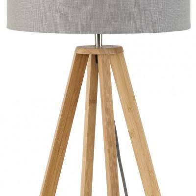 """Tafellamp Bamboe en Linnen """"Everest"""""""