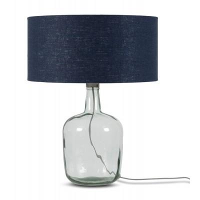 """Glazen Tafellamp Met Kap """"Murano"""" Large"""