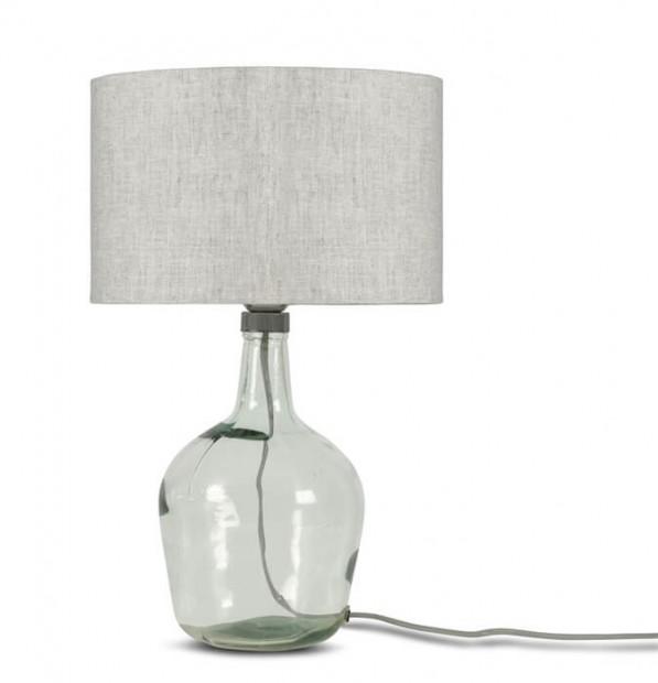 """Glazen Tafellamp Met Kap """"Murano"""" Small Murano T34"""