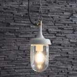 "Hanglamp Buiten veranda ""Harbour Light"" Lelie Wit"