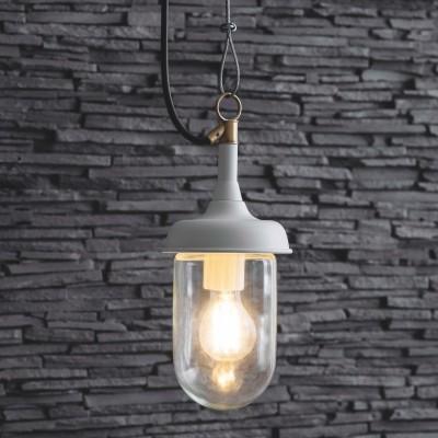 Hanglamp Buiten veranda Harbour Light Lelie Wit