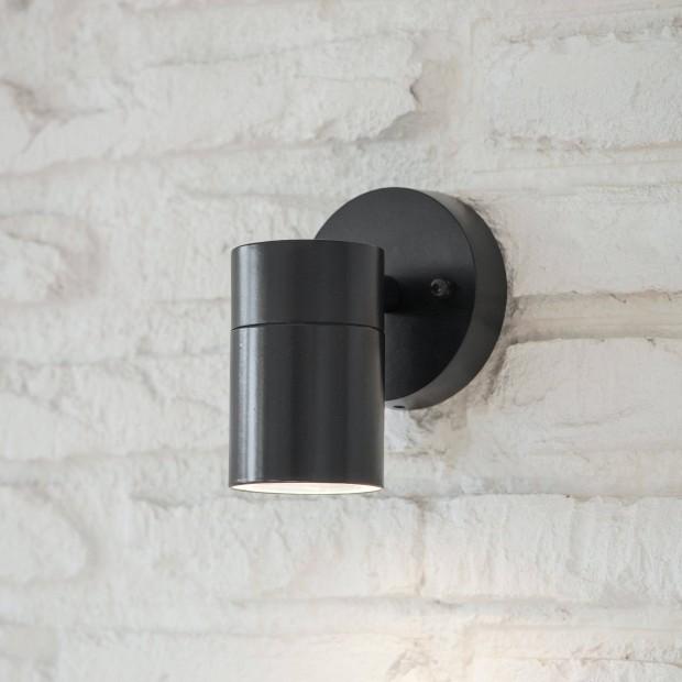 Wandlamp Buiten Downlight Zwart Regent  LACN36