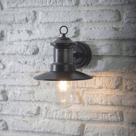Wandlamp Buiten Ships Light Carbon