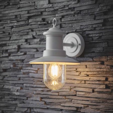 Wandlamp Buiten Ships Light Lelie Wit