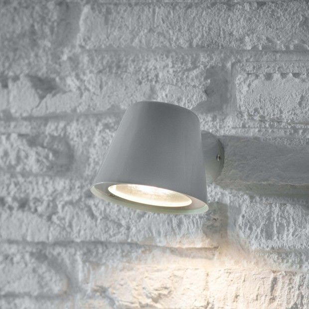 "Wandlamp Buiten Zachtgrijs ""Regent Mast Light""  LAFL07"