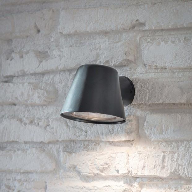 """Wandlamp Buiten Zwart """"Regent Mast Light""""  LACN29"""