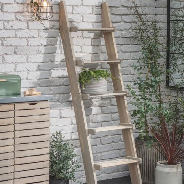 Decoratie Ladder Hout Aldsworth AWLD01