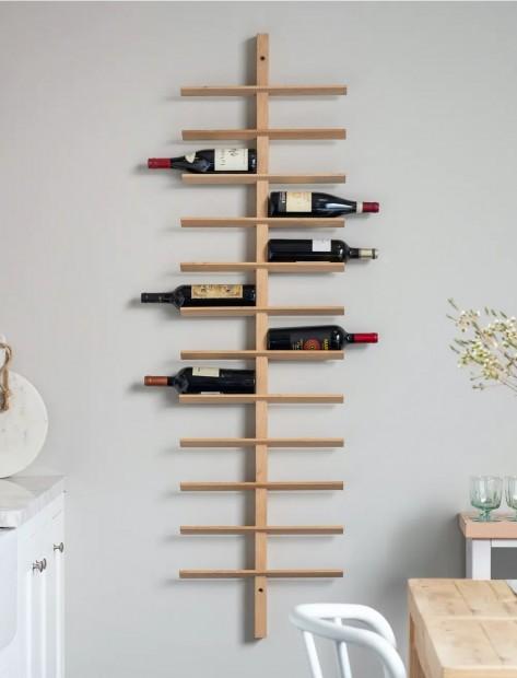 Wijnrek Muur Hout Hambledon 24 flessen WROA03