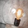 "Glazen Bol Tafellamp ""Warsaw"" Warsaw T"