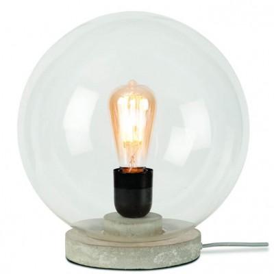 "Glazen Bol Tafellamp ""Warsaw"""