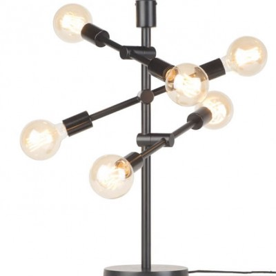 """Industriele Tafellamp Zwart """"Nashville"""""""
