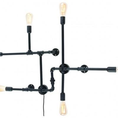 "Industriele Wandlamp Zwart ""Nashville"""