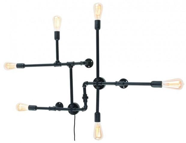 "Industriele Wandlamp Zwart ""Nashville"" Nashville W"