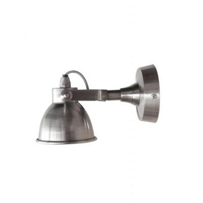 """LABEL51 Wandlamp """"Giens"""" Klein Antiek Zilver"""