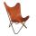 """Malagoon Leren """"Vlinderstoel"""" Cognac"""