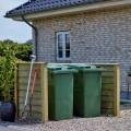 Container Ombouw Geïmpregneerd Hout 16610-1