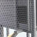 Groot Kippenhok Vierkant Zwart Voor 5 Kippen 186207-1