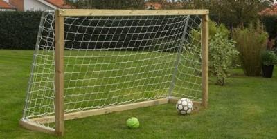 houten voetbaldoel voetbalgoals voor in de tuin
