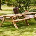 Houten Picknicktafel 3 Meter 18545-1
