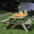 Rugleuning Picknicktafel  185850-1